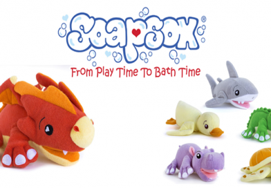 Give the Gift of Play Time at Bath Time with SoapSox