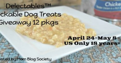 Delectables™, the First Lickable Stew Treat for Dogs Giveaway 12 packages