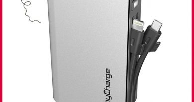 myCharge HubXtra 4400mAh portable charger giveaway (arv $69)