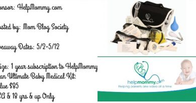 1 Yr Subscription to Helpmommy.com and a Ultimate Baby Medical Kit! Giveaway