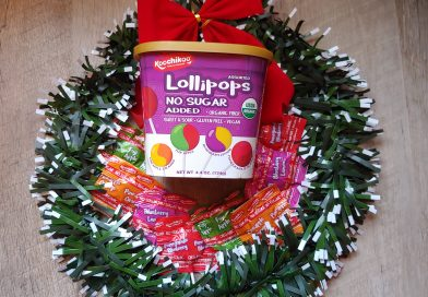No Sugar Added Organic Lollipops are Perfect Holiday Treats