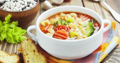 Chicken & Pasta Soup Recipe
