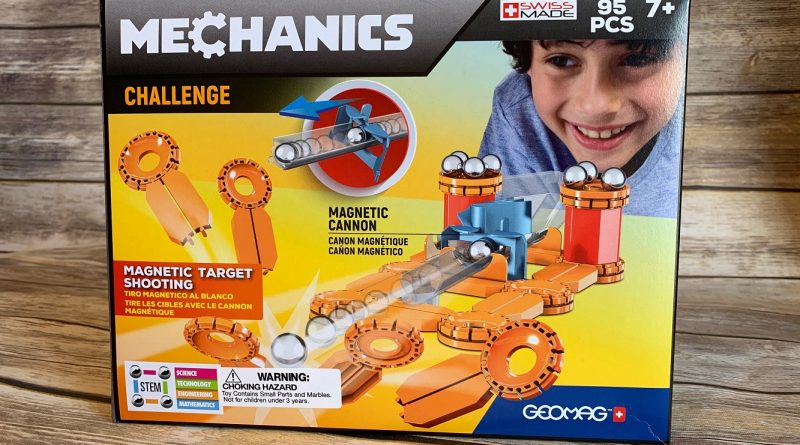 Geomag Mechanics is Magnetic Fun For Everyone!
