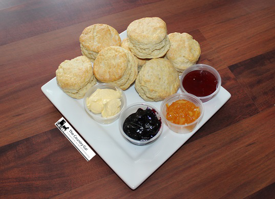 biscuits and jam yummy