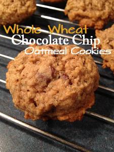 WholeWheatChocolateChipOatmealCookies