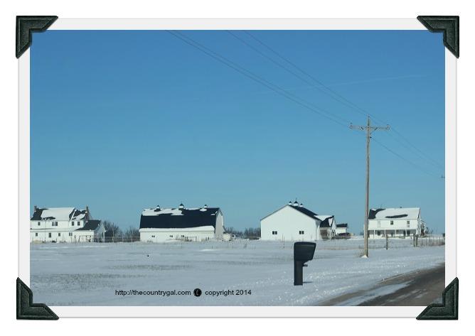amish houses photo